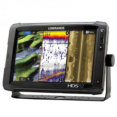 LOWRANCE HDS-12 LIVE Combo - Цветен сонар с GPS и 3 в 1 Active Imaging сонда / БГ меню